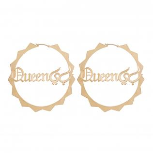 Queen 'Bee' in Arabic Hoops