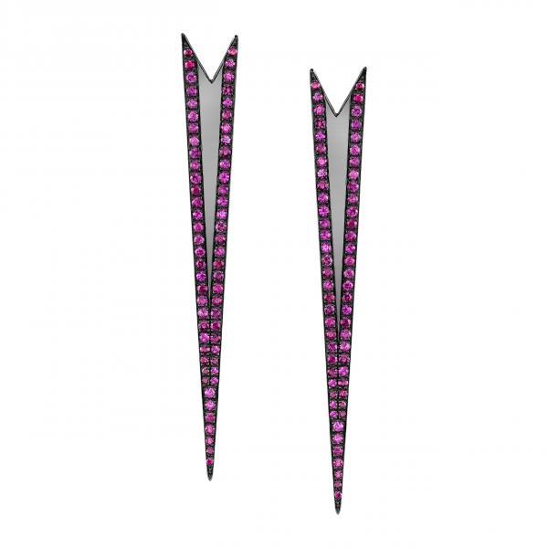 Ruby Stinger Earrings